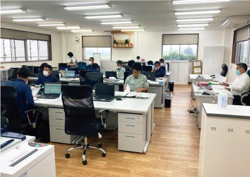 栃木日化サービス 風景